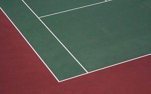 テニスのコートには色々な種類がある