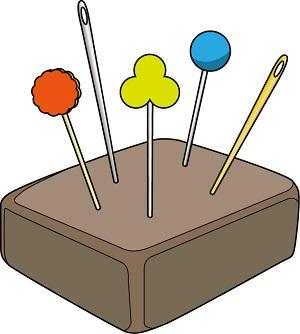 針供養は針をコンニャクや豆腐に刺して供養する