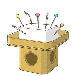 針供養は針を豆腐に刺して供養する