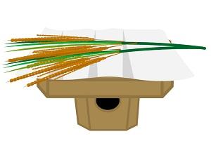 新嘗祭は11月23日に行われる収穫祭